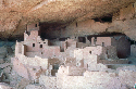 View of the Cliff Palace, one of the cliff...