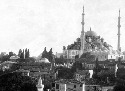 Fatih Mosque in present-day Istanbul, Turkey...