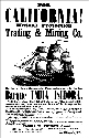 Advertisement for one of the ships that brought...