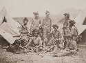 Sikh officers and soldiers of the British...
