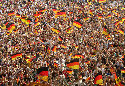 German fans at the FIFA World Cup 2006 in Germany...