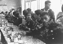 Civil rights activists occupying a lunchroom...