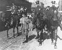 Mounted police round up African Americans and...