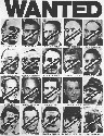 Poster showing members of the Watergate affair,...