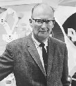 Arthur C. Clarke, science fiction author and...