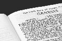 The book of Genesis in the Bible (Stan...