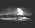 The first hydrogen bomb tested in 1952 by the...