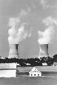 The Three Mile Island nuclear facility in...