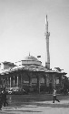 Ethem Bey Mosque in downtown Tirana. (Courtesy of...