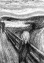 One of four versions of the Edvard Munch...