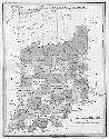 Map of Indiana. The present-day state of Indiana...
