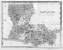 An 1826 map of the state of Louisiana shows...