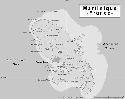 Map of Martinique. Martinique first came under...