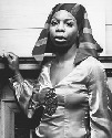 Singer Nina Simone made a point of singing in...