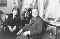 President John F. Kennedy and Mayor Willy Brandt...