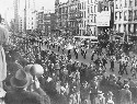 German American Bund parade in New York City on...