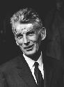 Portrait of Irish writer, Samuel Beckett. (Corbis)