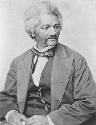 Portrait of Frederick Douglass, leader in the...