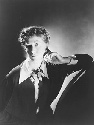 Portrait of poet Marianne Moore who, during the...