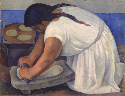 The Grinder (La Molendera), 1924, by Diego...