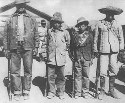 Carranzista rebels near Chihuahua (Mexican...