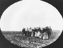 Dukhobor women, 1899. (National Archives of...