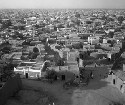A panoramic view of central Kano, one of the...