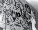 Works Progress Administration artist painting a...