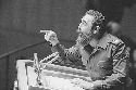 Cuban Premier Fidel Castro addresses the UN...