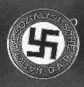 The official Nazi Party membership lapel pin:...