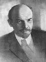 An official portrait of Lenin from the...