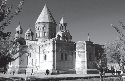 Cathedral in Etchmiadzin, home of the Holy See of...