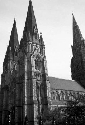 A Scottish cathedral. The Church of Scotland is...
