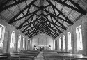 Interior of a mission church in Malawi. (Travel...