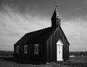 An Evangelical Lutheran church in Budir, Iceland....