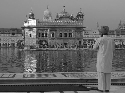India's Golden Temple in the Punjabi city of...