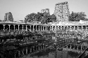 A lake in the courtyard of the Sri Meenakshi...