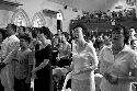Christians sing during a prayer service at Kuala...