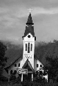 A Protestant Christian Batak church on Samosir...