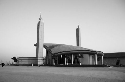 Mosque outside the Khalifa sports stadium, Doha,...
