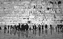 Wailing Wall in old Jerusalem, Israel....