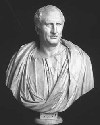 First-century BCE bust of the Roman Stoic and...