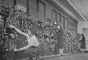 Computer operators program ENIAC, the first...
