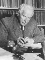 Carl Jung, pictured here, eventually broke from...