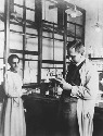 Lise Meitner and Otto Hahn, ca. 1913. (Otto Hahn,...