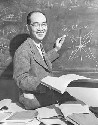 Professor Hideki Yukawa, noted Japanese physicist...
