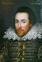 "William Shakespeare. The ""Cobbe portrait"" was..."