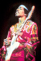 Jimi Hendrix was acclaimed for his work with the...