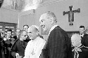 Pope Paul VI receives U.S. president Lyndon B....
