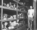 Inmates of Buchenwald concentration camp a few...